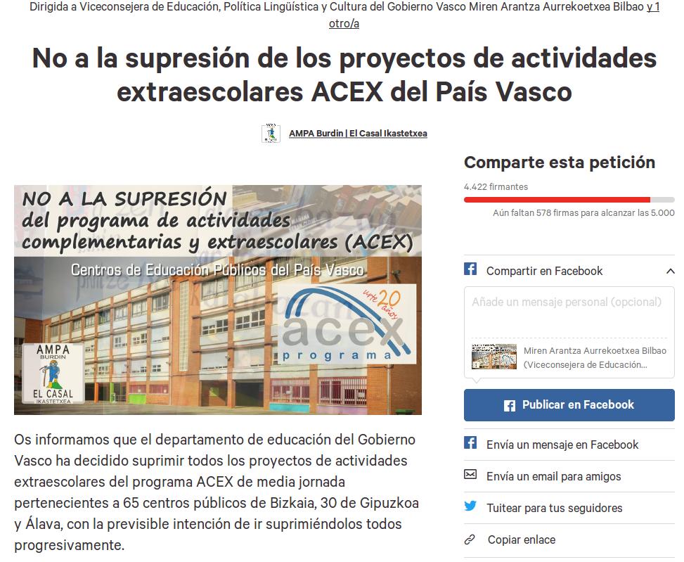 peticion-acex-bai-change.org